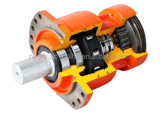 Poclain MS08 MSE08 piston motor for forest felling machine
