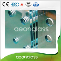 3mm 19mm Flat Bent TEMPERED GLASS