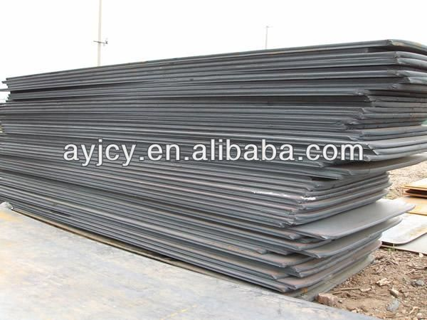 chinese factory made GJ295 alloy steel plate iron structures used