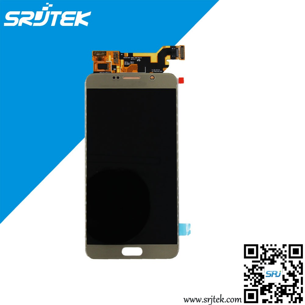 Wholesale Gold LCD Display Screen+Touch Screen Digitizer Assembly Replacement For Samsung Galaxy Note 5 N920 N9200