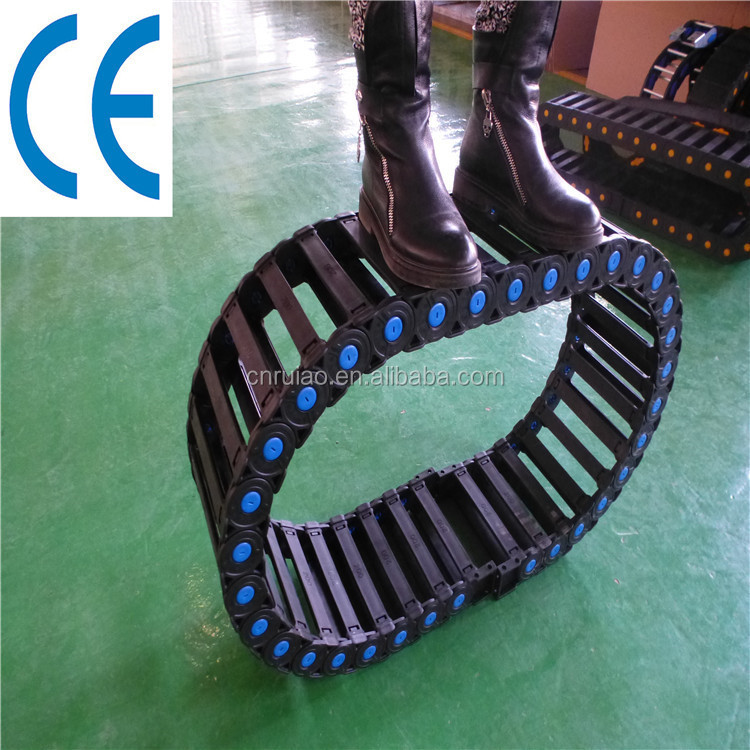 robot cable towling industrial drag chain cable carrier track