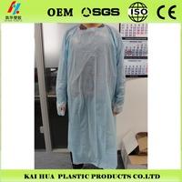 oem PE Disposable Plastic Aprons clean aprons