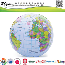 factory wholesales OEM educational pvc kids toy student globe pvc inflatable world map beach ball