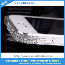 2014 China New Product Crystal Diamond Case Bumper Case for iphone 5 with Crystal Box