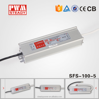 constant voltage dimmable driver 100w 5v dc waterproof led driver for dc 5v led strip