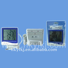 Digital LCD Thermometer & Hygrometer with red or blue colors thermohygrometer (S-WS06)