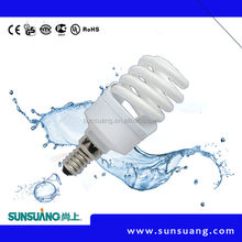 CE BV ROHS SASO UL Certificate buy direct China Canton fair full spiral saving bulbs