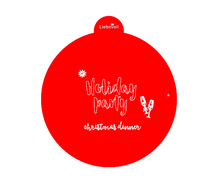 427603 liebevoll Happy Birthday Party Decorations Stencil Red Plastic Cake Stencil
