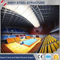 Prefabricated light weight/gauge steel roof truss for large building