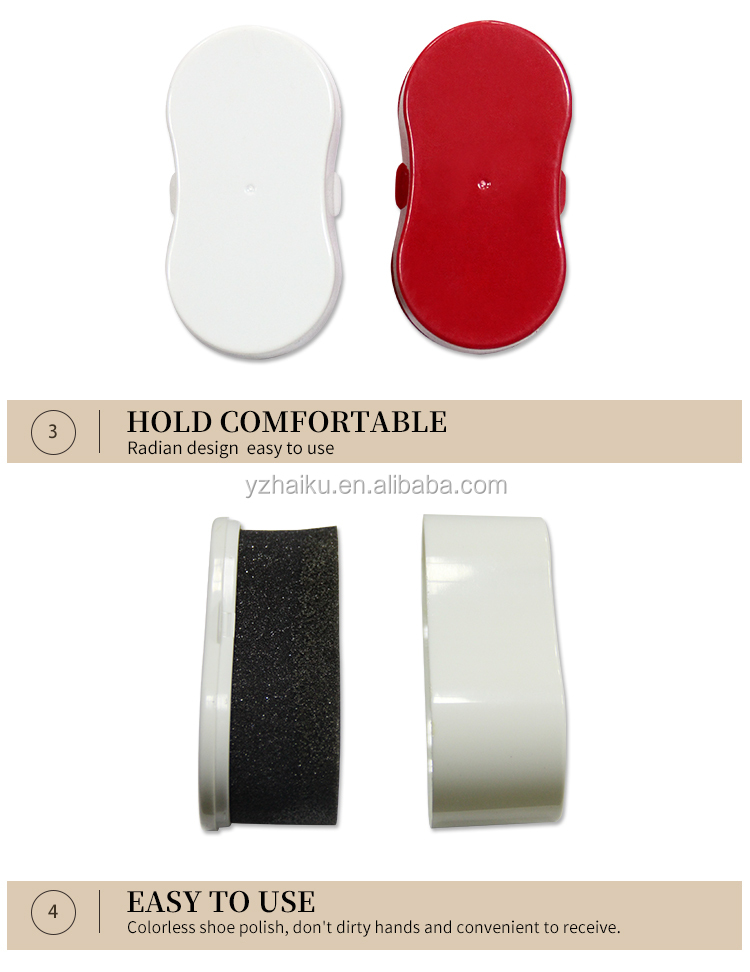 leather shoe shine sponge with OEM service from direct manufacturer