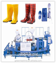 pvc rain boots safety waterproof fishing boots injection moulding machine