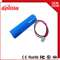 Long cycle life good price 3.7v 3000mah li polymer battery with JST connector