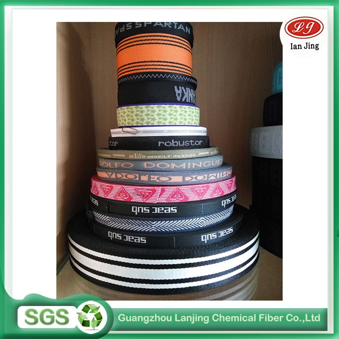 PP /polyester material jacquard webbing for bag/ briefcases/luggage