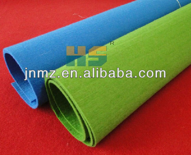 3mm non woven polyester felt and acrylic felt