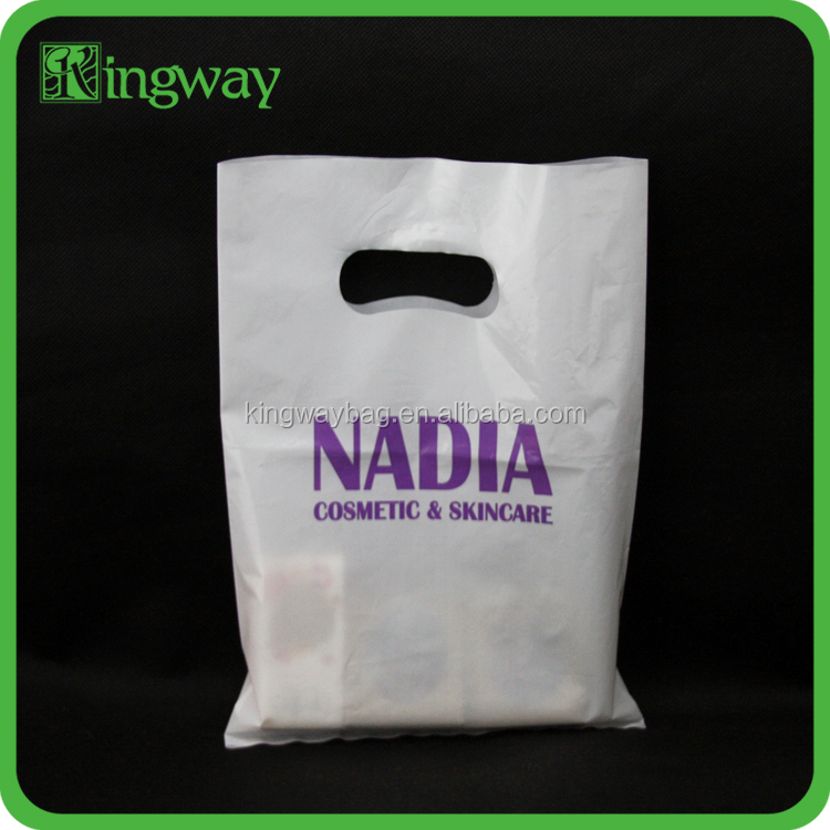 wholesale cheap customized various color die cut bags for cloth packing