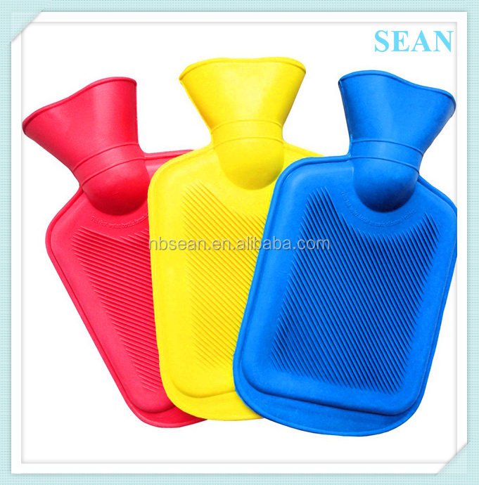 factory supply hot water rubber bottle cover cold bag stuffed cover with high quality
