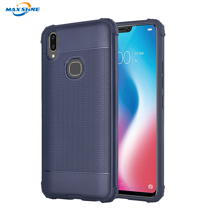 Maxshine Flexible Price Tpu Phone Case Ultra Slim For Vivo V9 , Shockproof Bumper Back Case Cover For Vivo V9