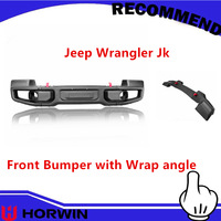 Mopar Rubicon 10th anniversary bumpers with end cap angel for Jeep offroad 4*4 bull bar jk wrangler parts