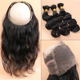 wholesale newest 360 Lace Band Frontal Closures ,360lace frontal
