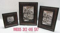 Hand-made Antique Wood Photo Frame