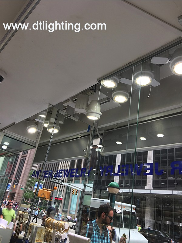 UL CE ROHS Approved PAR38 5000lm 60w LED Lamp E27 Fashion Shop Exclusive Jewelry PAR38