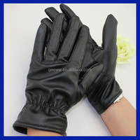 Hot new products for 2015 Men's Sheepskin Leather Classic Driving Gloves
