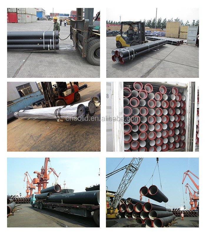 One leading Manufacturers of K9, C40, C30, C25 Ductile Iron Pipe in China