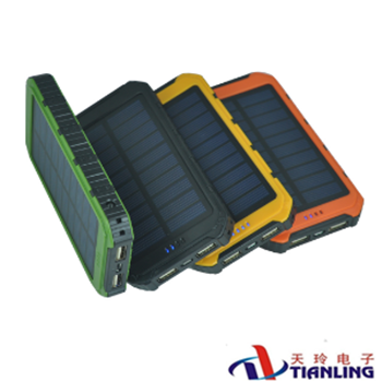 Solar Power Banks 2000-10000mAh hot sells solar charge mobile power supply for phone