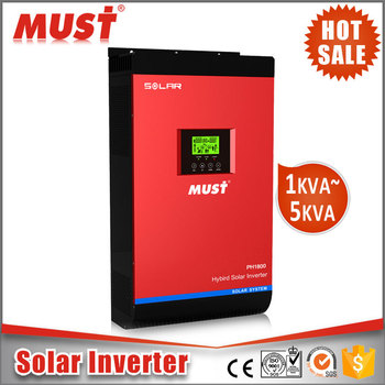 Top selling 5kva/48V with MPPT solar inverter price Africa for off-grid tie solar system