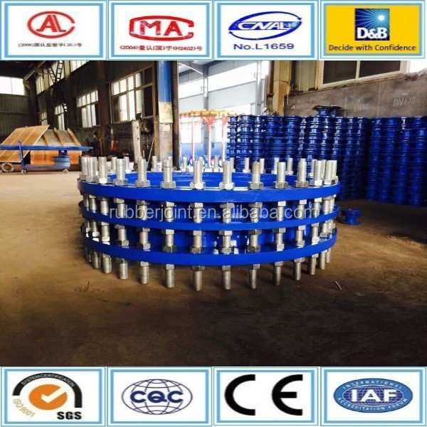 Cast iron double flanged telescopic pipe fitting manufacturer