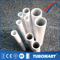 Heating system supplier flexible cold hot water pipe / overlap pex pipe for floor heating