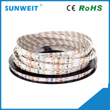 Alibaba best selling dc12v/24v 5m 3528 smd flexible led stripe with 3M adhesive back