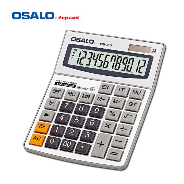 OSALO calculator 12 digit calculator double display calculator factories