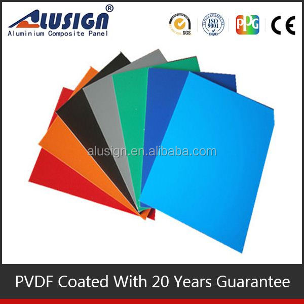 Alusign flexible aluminum foil foam thermal building construction material aluminum/aluminium composite panel acp sheet