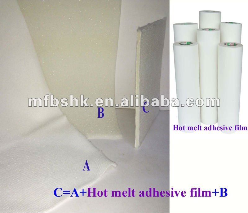 strong bond adhesive of hot melt adhesive film for garment