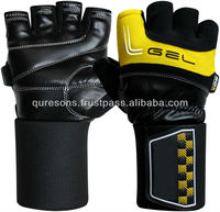 Gym Gloves 2014 Style Very smart easy to use Strong Wrist Wrap New model fitness training gloves