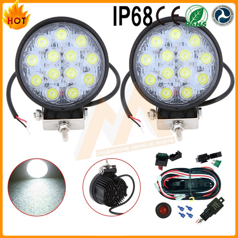 automobiles & motorcycles 39w Led Work Light for Offroad cars