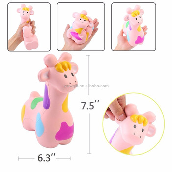 Fun Kawaii Giraffe Slow Rising Giraffe Toy Squeeze Relieve Anxiet Gift