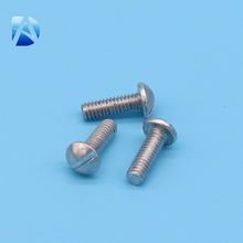 Hot Sell Aluminum Round Head Slotted Drive Machine Screw