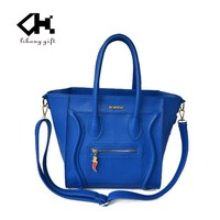 fashion cheap women's bag leather handbags hot sale by bulk