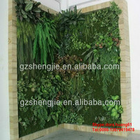 SJH010514 artificial green wall indoor vertical growing wall vertical green wall