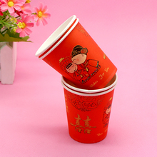 Cold drink disposable paper cups from Chinese suppliers