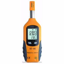 HT-86 Good Quality Professional High Sensitive Display Thermometer Portable Digital Temperature And Humidity Meter