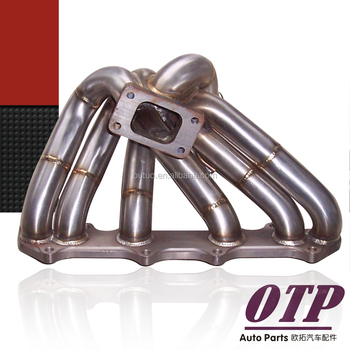 New design Motorsports 2JZ GTE T3 Supra IS300 GS300 Top Mount turbo manifold
