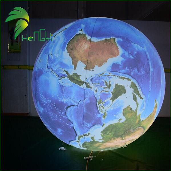 led lighting inflatable globe balloons (2)