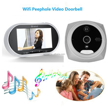 Factory Wholesale Wired Doorbell With Camera , Hotel Door bell System with No disturb Mode, Hidden Doorbell Camera For Apartment