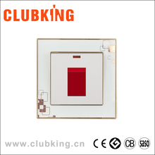 C6 86*86mm PC plate airconditioner switch 45A wall water heater switch