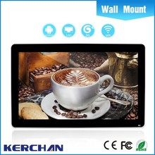 55inch lcd advertising player software with card reader with android 4.4 os without tablet pc without camera