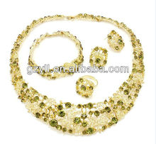 green bridal set imitation jewellery chennai
