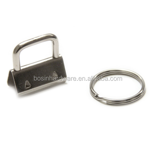 Fashion High Quality Metal 25mm Key FOB Hardware With Key Ring